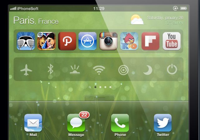 ios7 concept ipad iphonesoft zoom 1