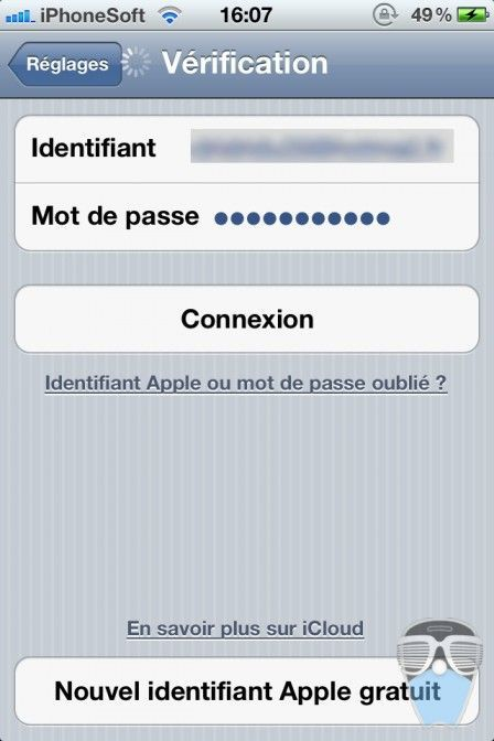 comment afficher mot de passe mail iphone