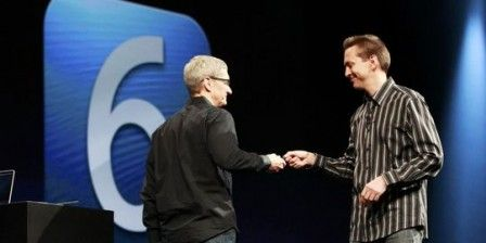 tim cook apple ios6