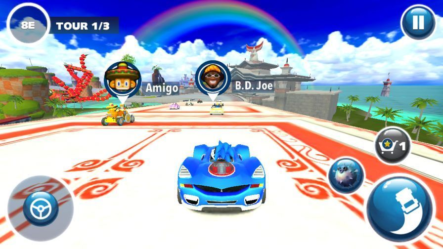 Android-Sonic Racing Transformed