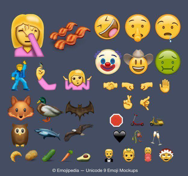Le Consortium Unicode Accepte 74 Nouveaux Emojis Une