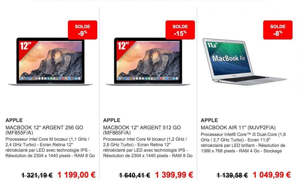 macbook pouces dernier cri promotion