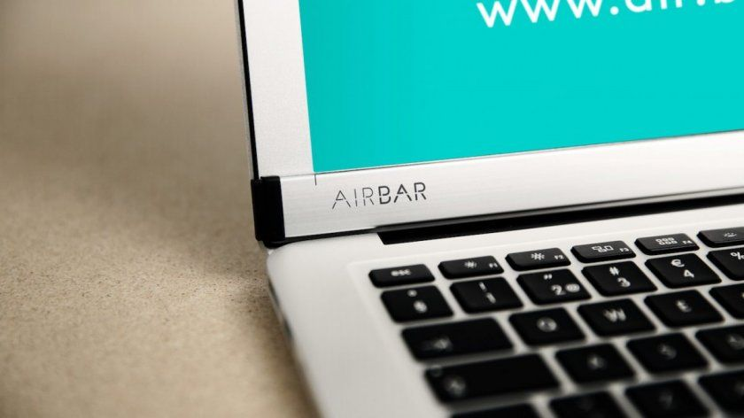 airbar macbook air mac tactile