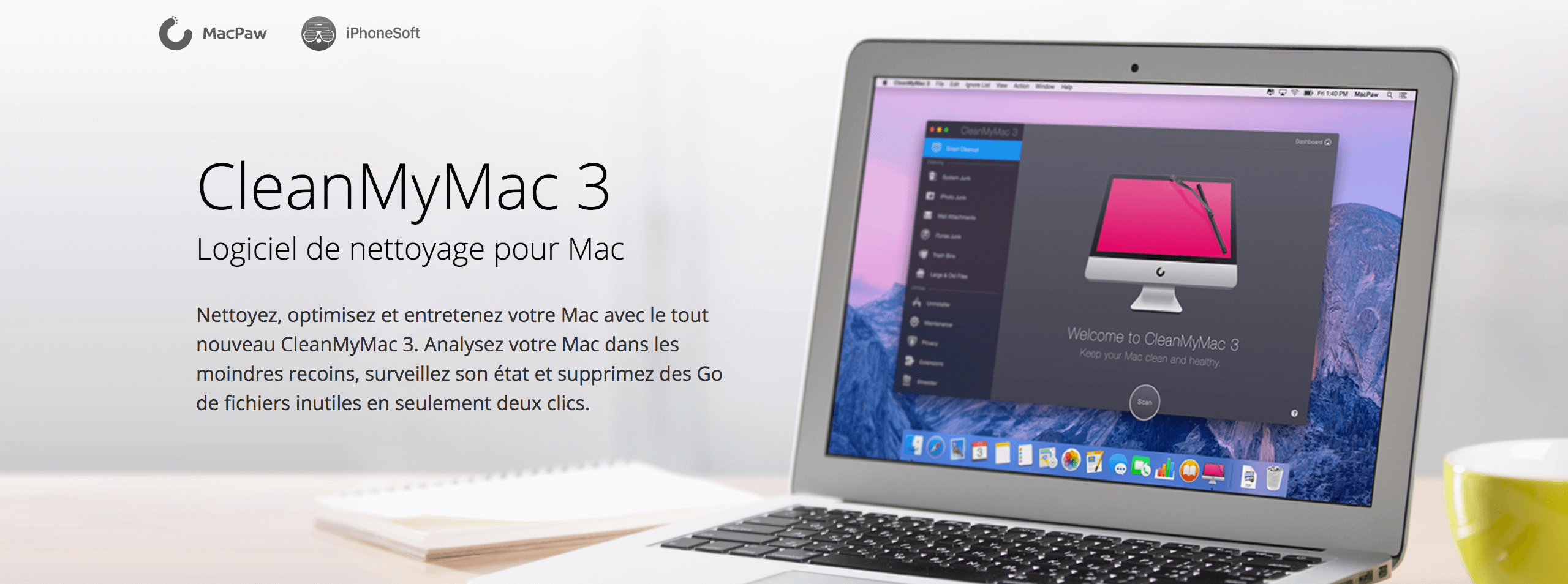 concours cleanmymac iphonesoft