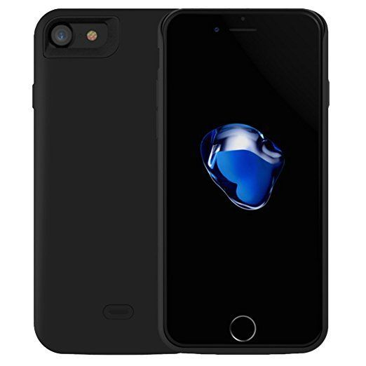ventes flash amazon coques batteries pour iphone 7 6s 6. Black Bedroom Furniture Sets. Home Design Ideas
