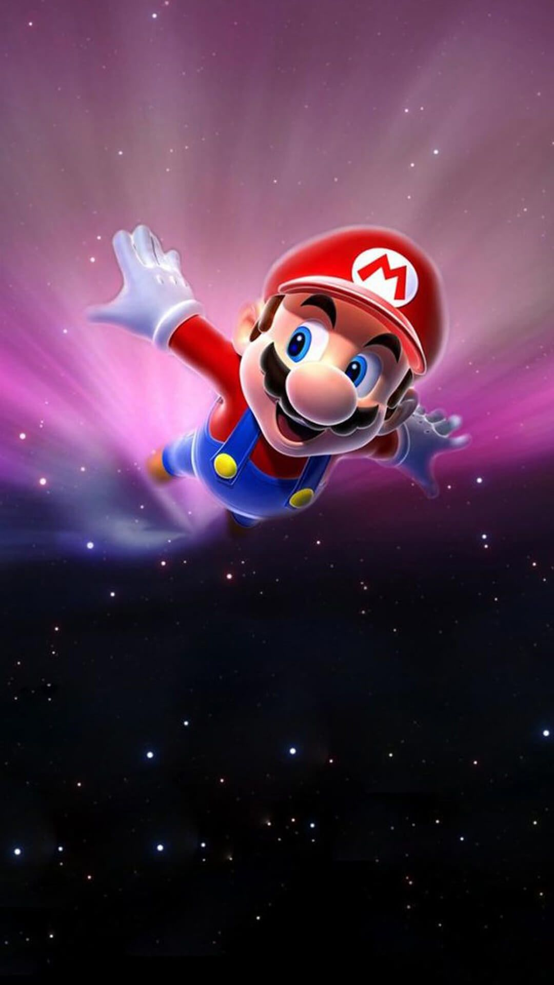 super mario flying iphone 7 plus wallpaper