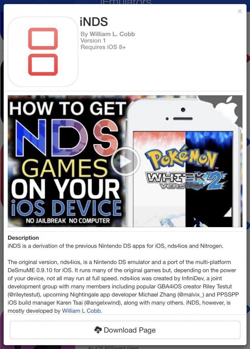 Comment jouer à la Nintendo DS sur iPhone / iPad (Sans
