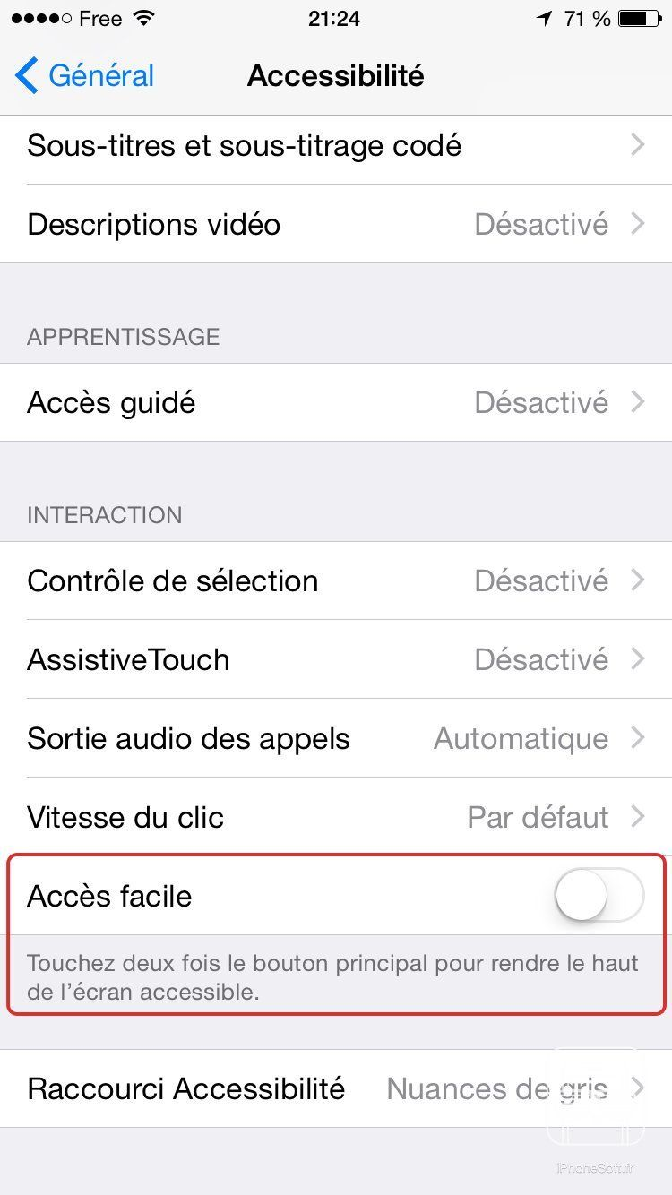 tuto reachability acces facile
