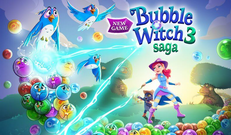 Bubble Witch 3 Saga : l'autre Puzzle Bobble gratuit sur iOS