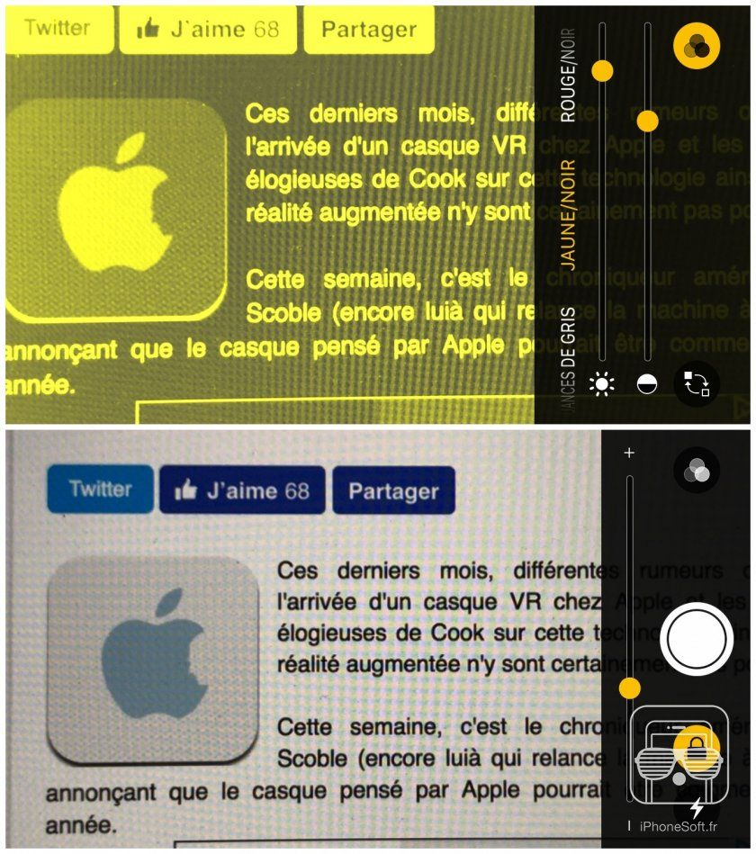 isoft tuto loupe mode iphone ios 10