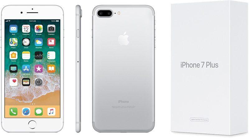 apple vend des iphone 7 et 7 plus reconditionn s d s 499 aux usa. Black Bedroom Furniture Sets. Home Design Ideas