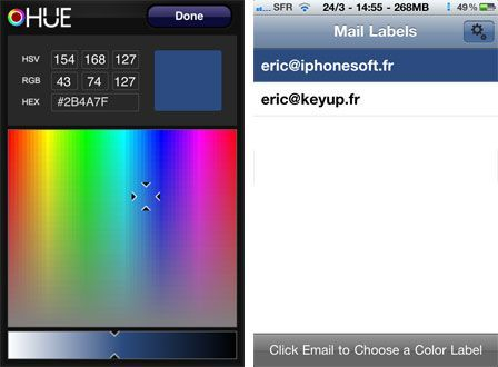 Colored Mailing Labels Color Mail Permet D'ajouter à