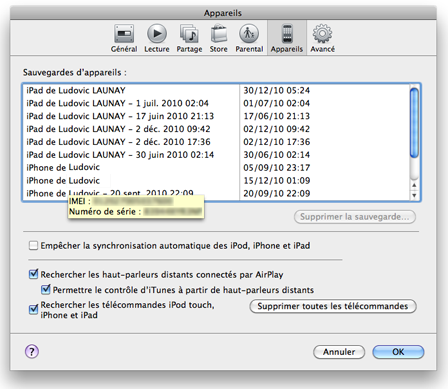 comment trouver l imei d un iphone