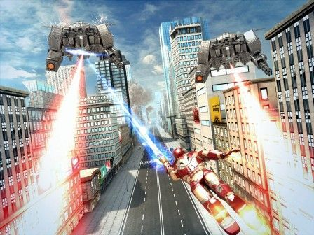 Iron Man 3 sera un jeu de course infinie