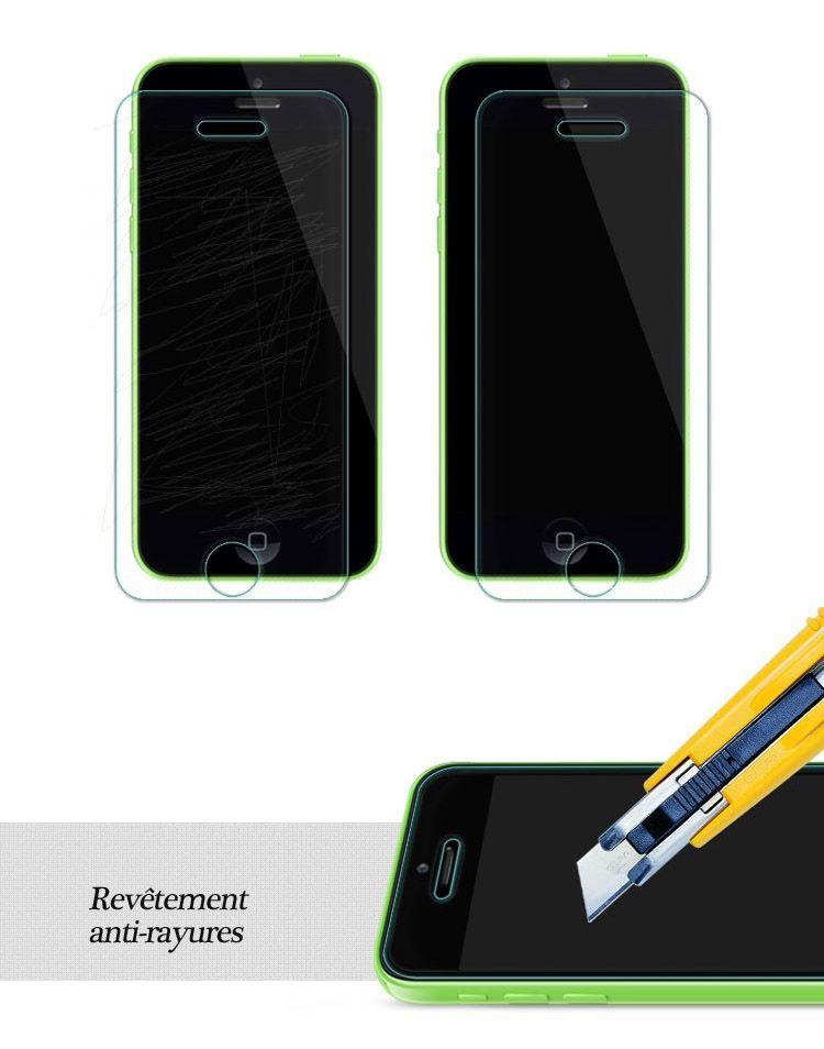 bon plan accessoire film anti rayures bact ries et traces pour iphone 5 5s 5c 60. Black Bedroom Furniture Sets. Home Design Ideas