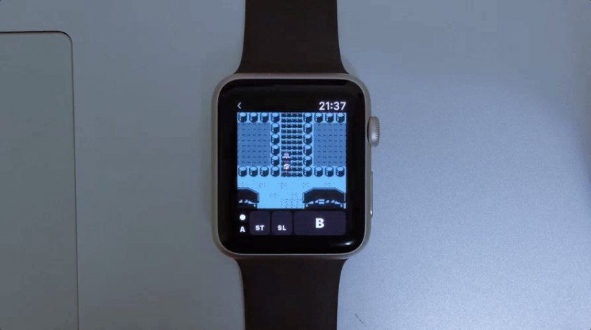 apple watch gameboy