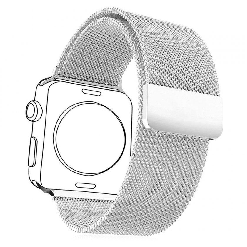 bracelet milanais pas cher apple watch