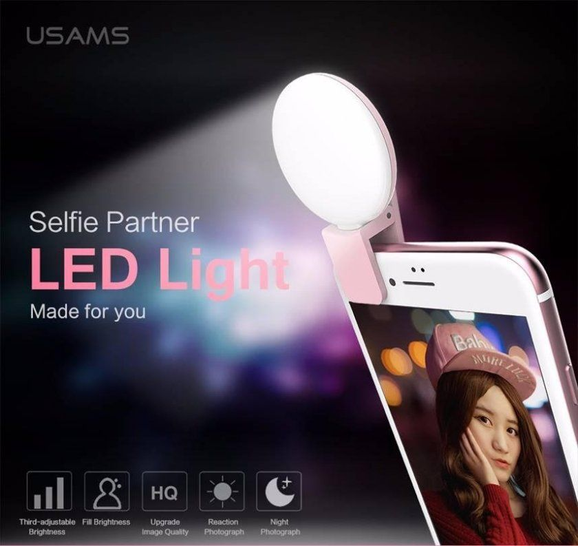 selfie led flash iphone