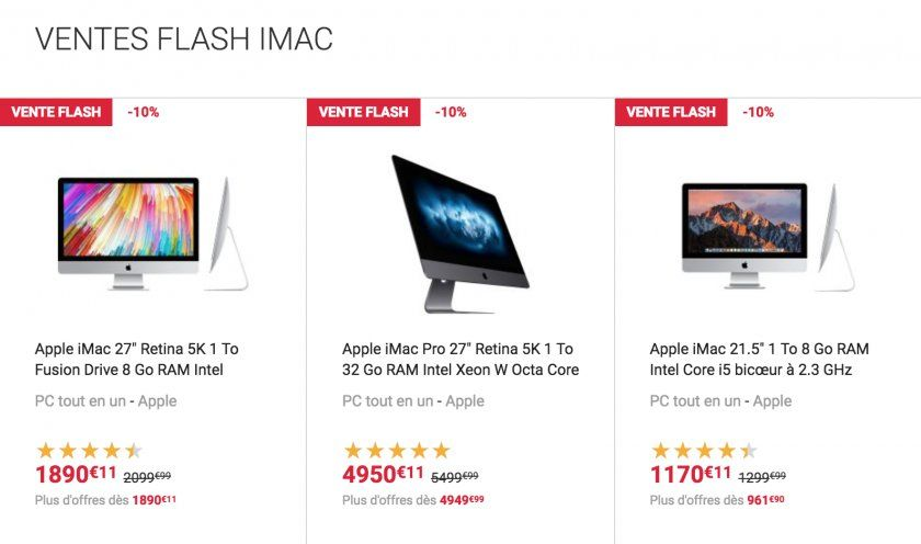Imac discount coupons