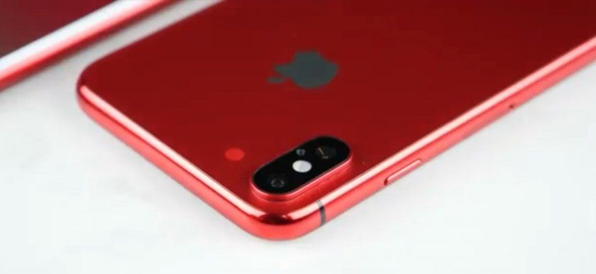 iPhone X Red une sortie prévue en septembre 2018