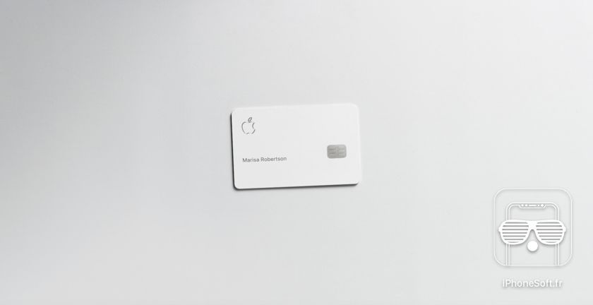 card apple titanium