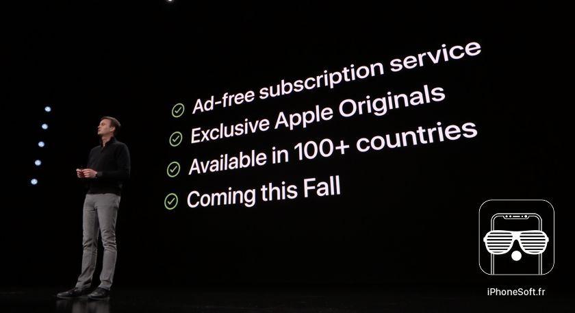 Apple TV plus officiel