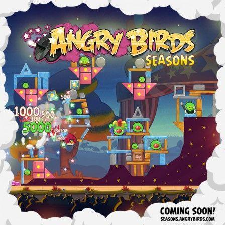 Angry Birds Seasons La Mise 224 Jour Des Clowns En