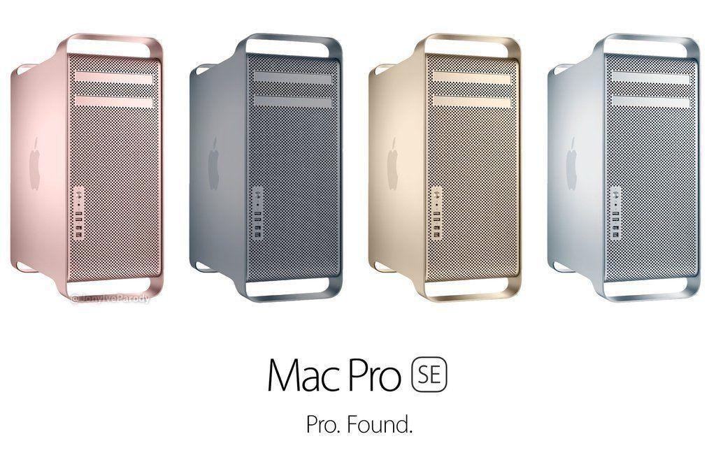 un mac pro se en quatre couleurs c 39 est ici. Black Bedroom Furniture Sets. Home Design Ideas