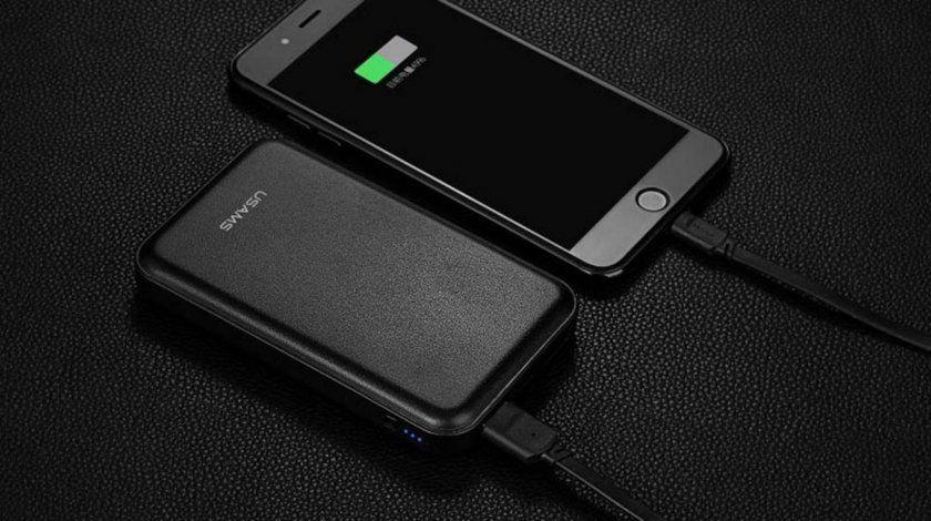 promo batterie externe cuir 10 000mah pour iphone ipad mac. Black Bedroom Furniture Sets. Home Design Ideas