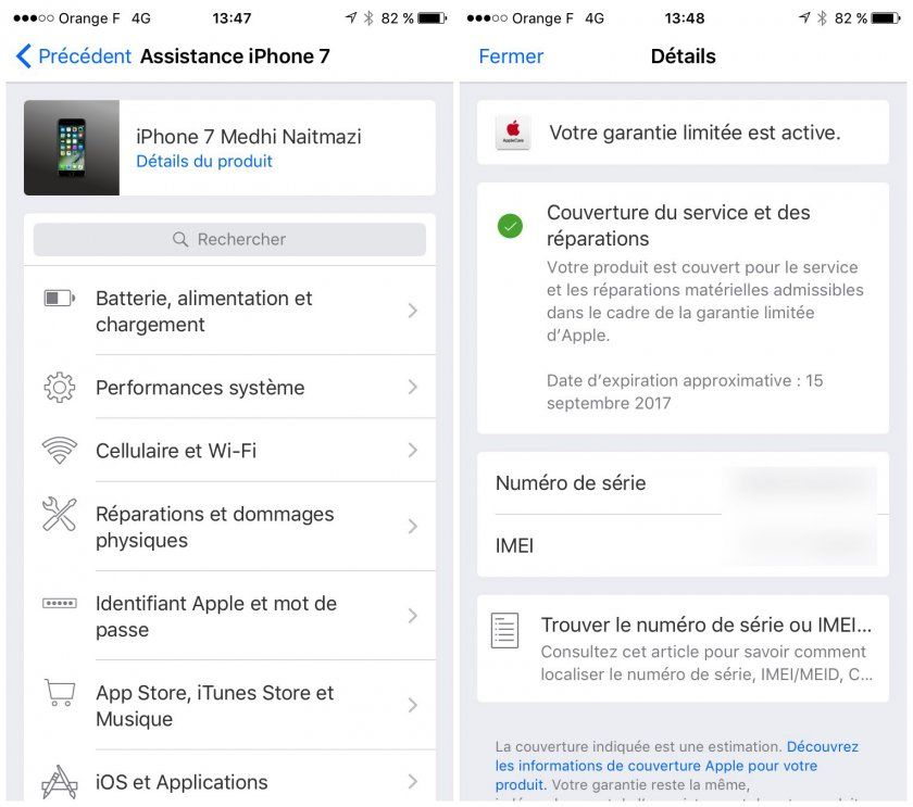 savoir si iphone garantie tuto iphone facile isoft