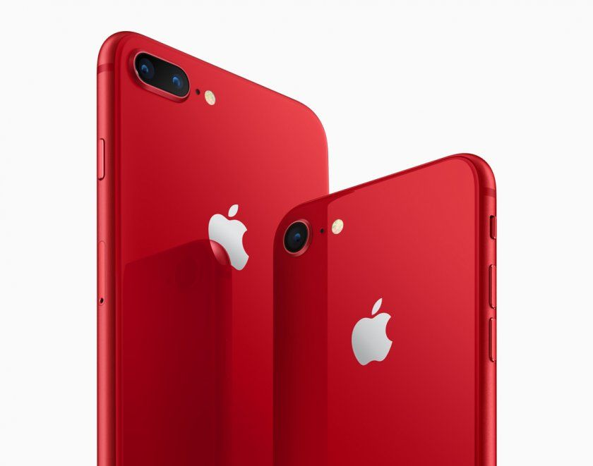 iphone 8 red back dos arriere officiel