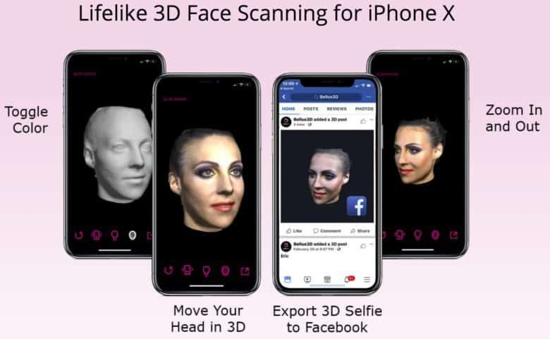 scan 3d iphone x