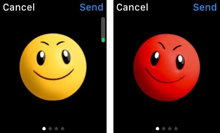 Apple Watch : comment changer la couleur des smileys
