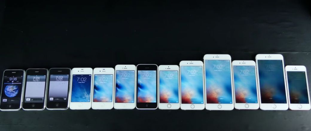 Comparatif Des 13 Iphone En Vid 233 O