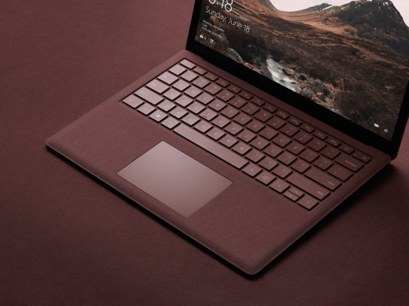 surface laptop microsoft concurrent macbook air 1
