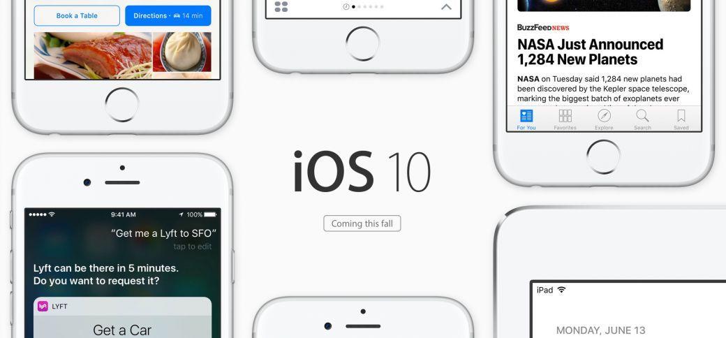 Les principales nouveautés d'iOS 10 dévoilées par Apple