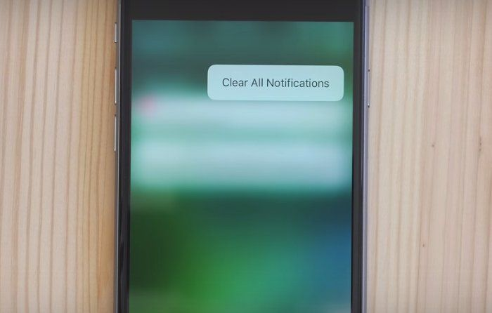 supprimer toutes notification ios 10 tuto comment 0