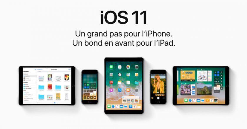 iOS 11 : les nouveautés d'un petit cru 2017