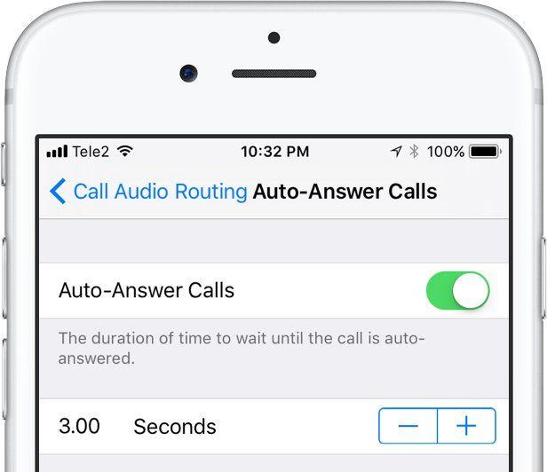 comment decrocher automatiquement iphone