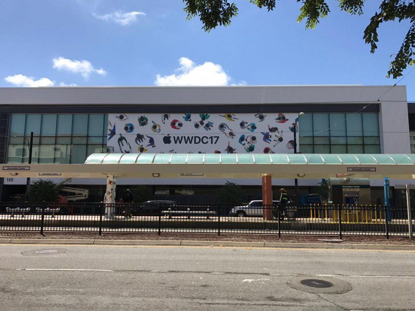 wwdc 2017 mcenery convention center 3