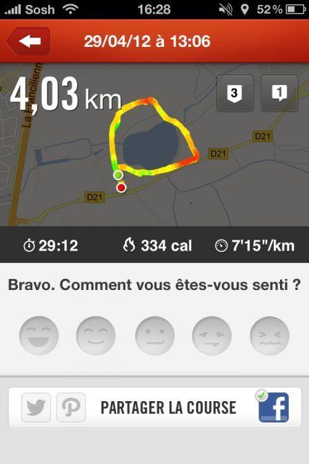 , La semaine de remise en forme : Test Nike + Running