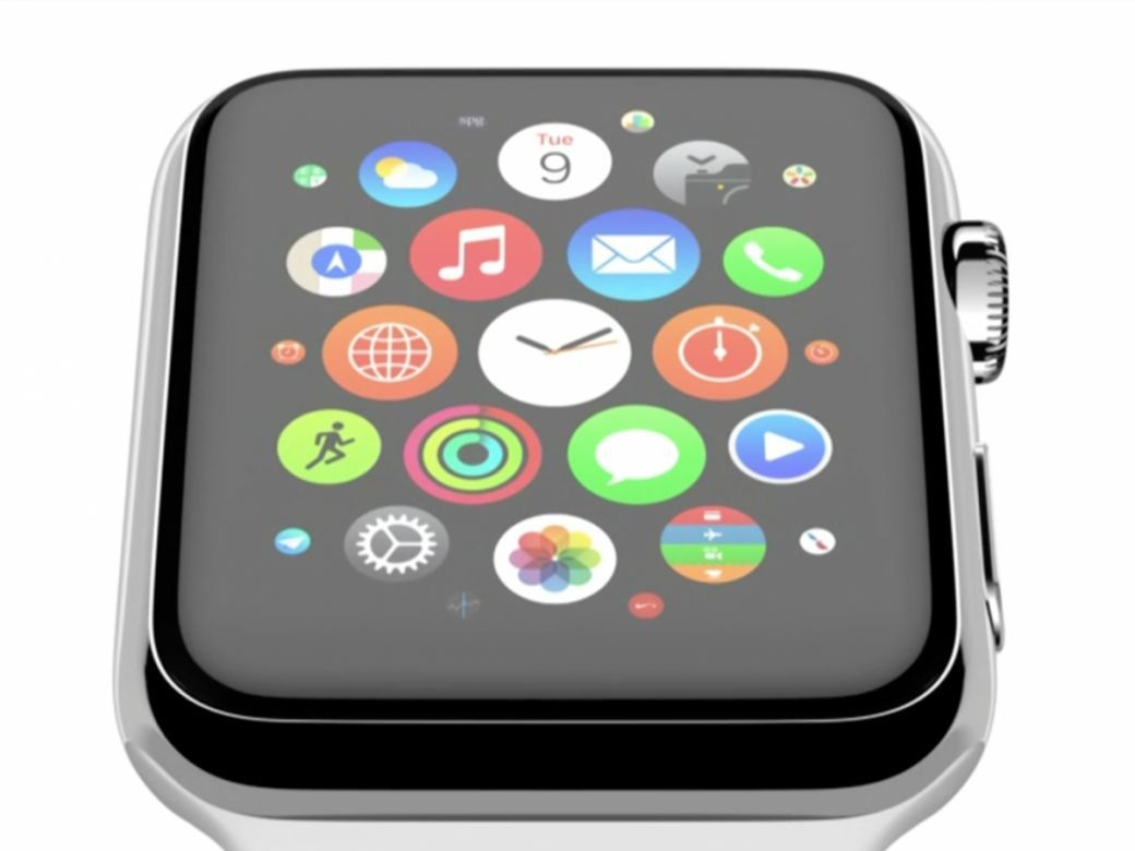 apple watch ecran