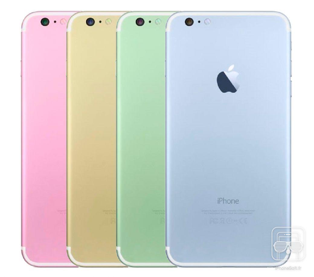 et si apple proposait des couleurs pastels pour l 39 iphone 7 concept. Black Bedroom Furniture Sets. Home Design Ideas