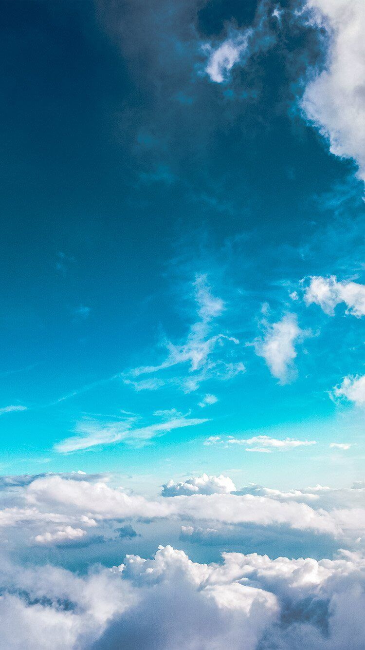 9 fonds d 39 cran ciel bleu pour iphone et ipad for Fond ecran iphone paysage