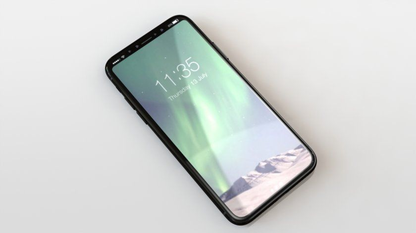 iPhone 8 : le rendu final par Forbes
