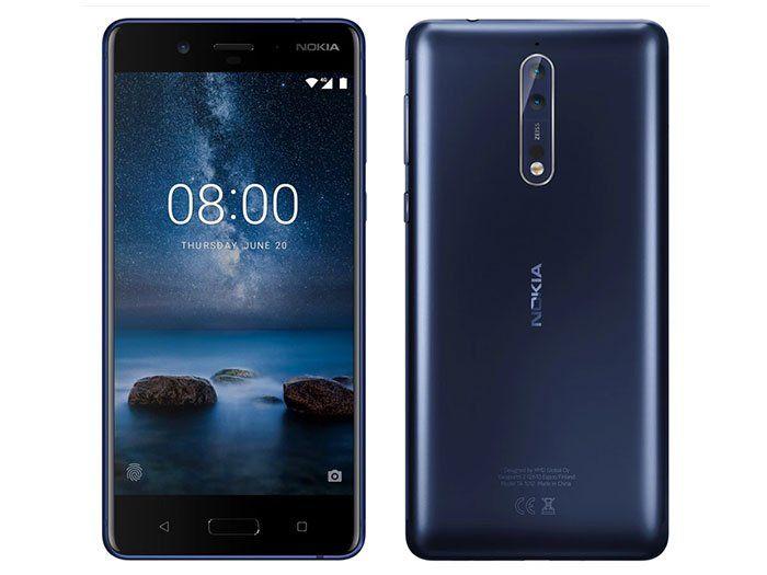 Nokia De Retour Avec Le Nokia 8 Sous Android