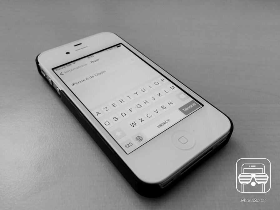 Restaurer Iphone C