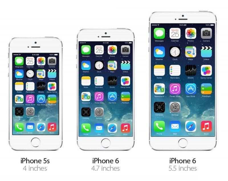 les specs techniques de l 39 iphone 6 version 4 7 pouces et 5 5 pouces