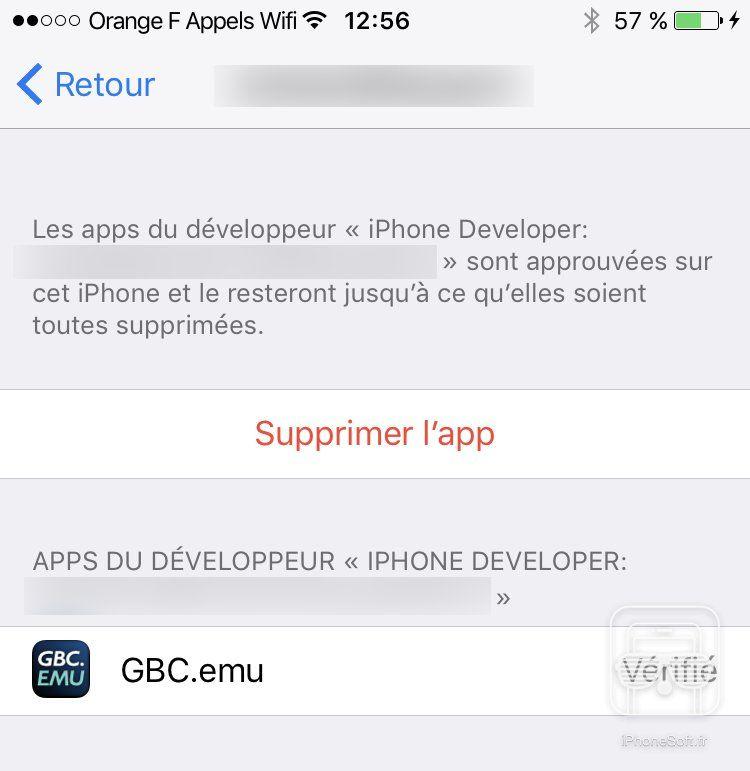 Installer un émulateur sans jailbreak sur iOS : GameBoy, DS