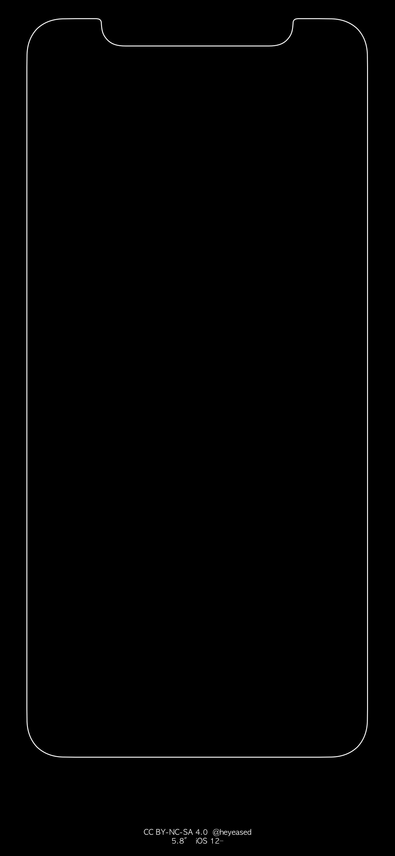 iPhone X / XS / XR HD à encoche